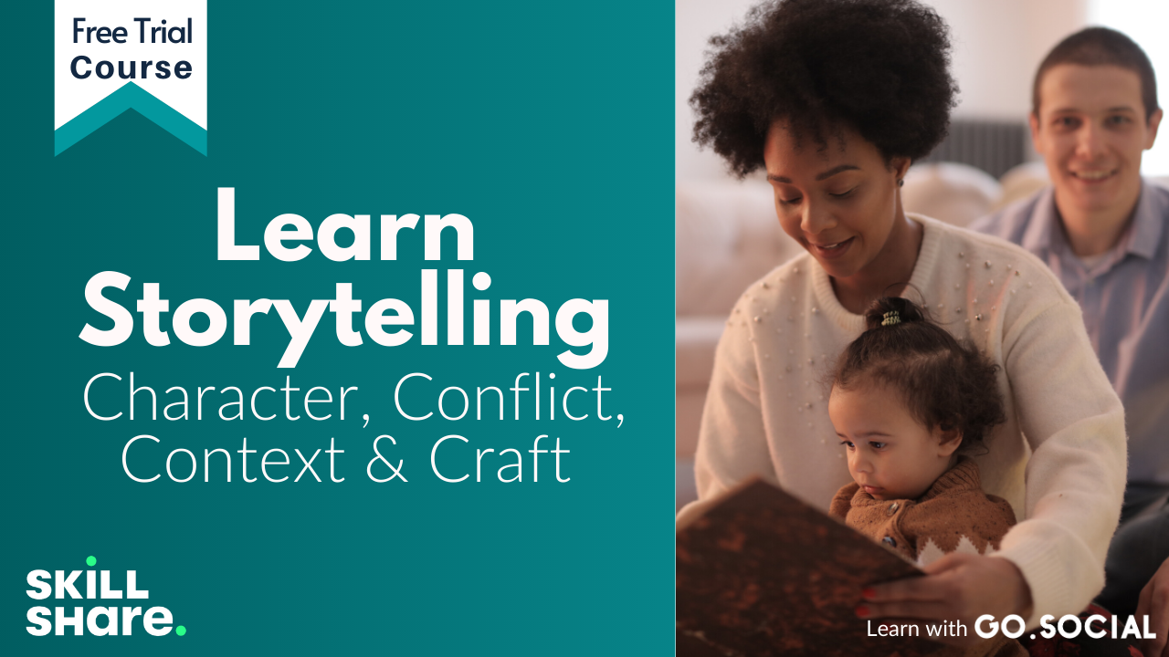 Storytelling   Character, Conflict, Context & Craft Skillshare