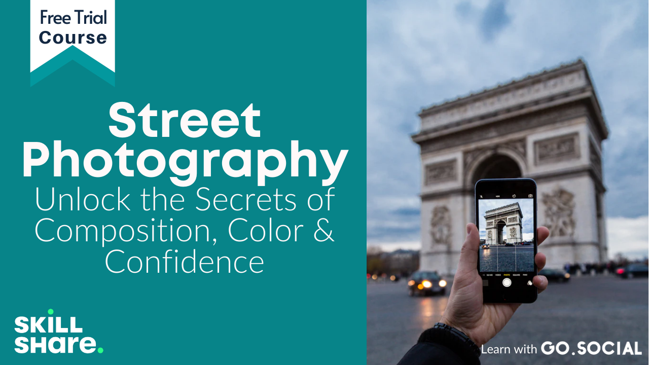 Street Photography: Unlock the Secrets of Composition, Color & Confidence Skillshare