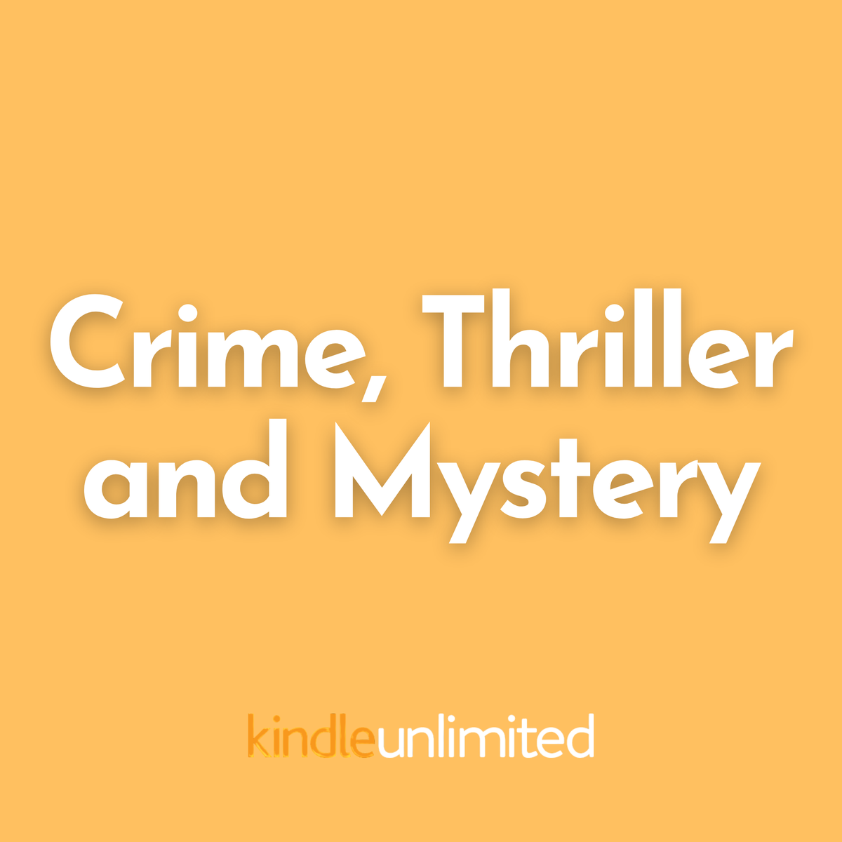 Crime, Thriller and Mystery