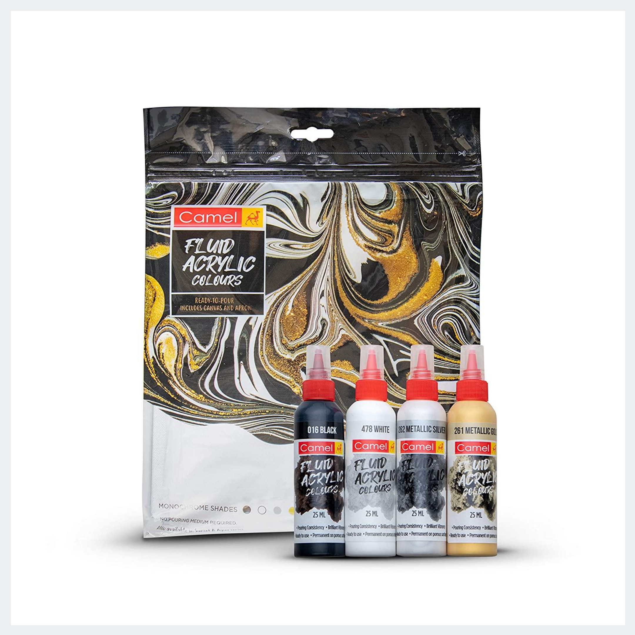 Fluid Acrylic by Camel Collection