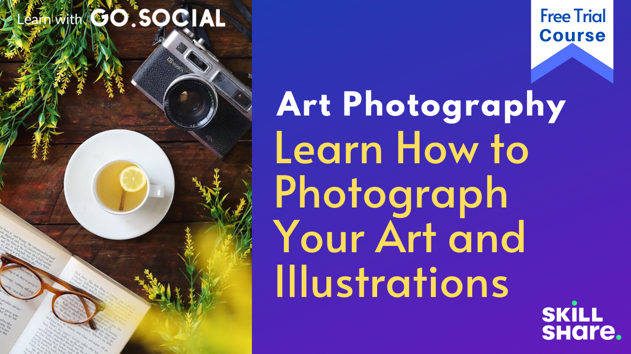 Photograph your Art and Illustrations Collection