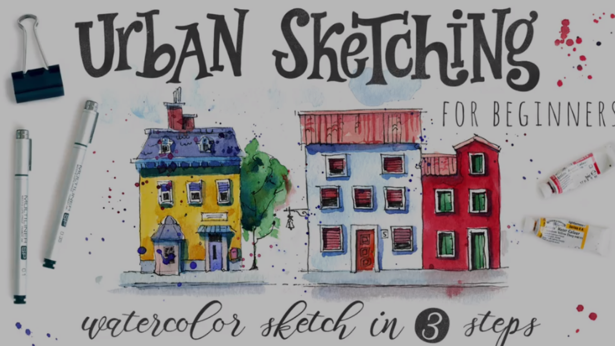 Urban Sketching Essentials: Drawing People and Crowds Made Simple