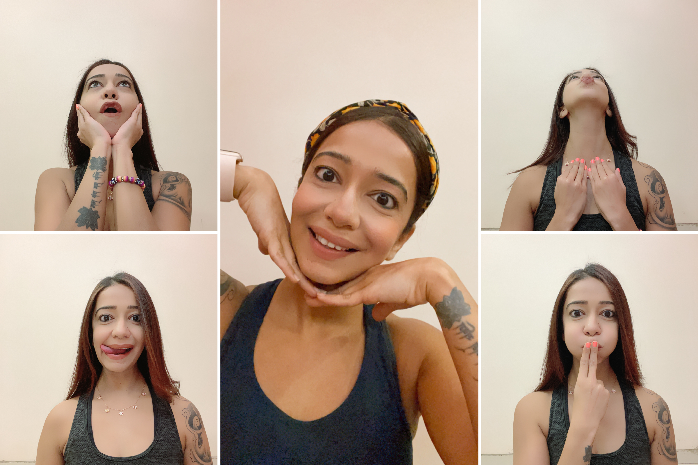 Face Yoga for Anti-Ageing Workshop's Banner
