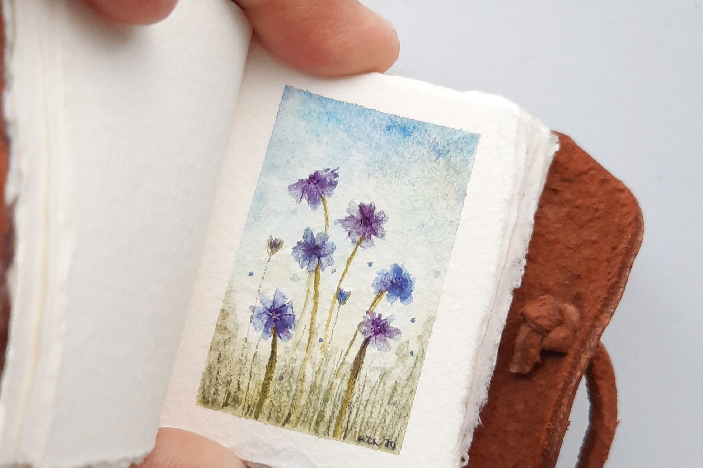 Miniature Painting in Watercolor Workshop's Banner