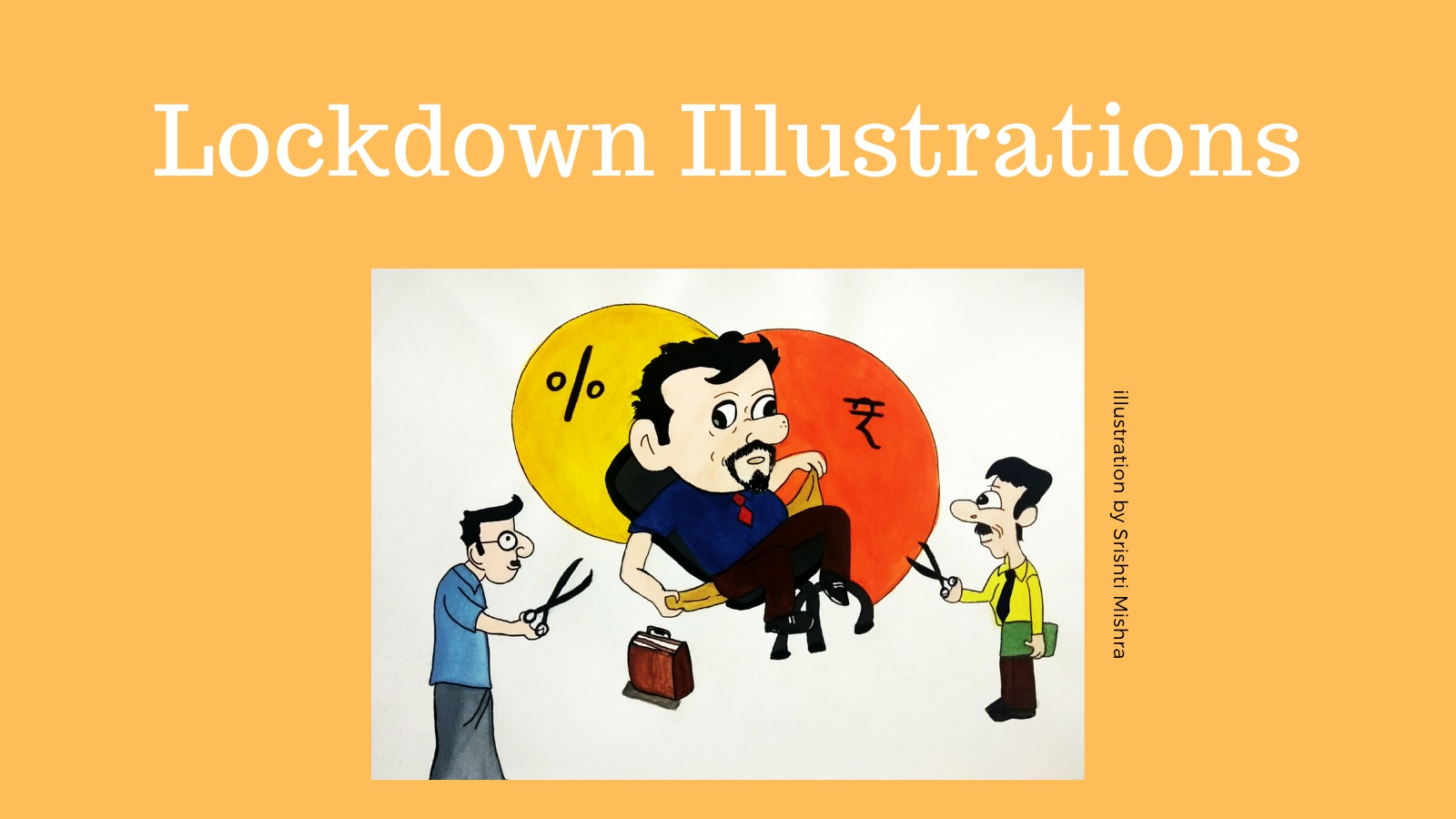 """Lockdown Illustrations"" - Art Challenge"