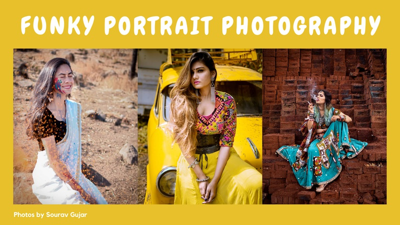 Funky Portrait photography Challenge
