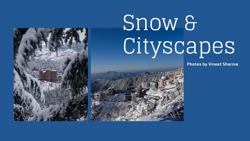 """""""Snow & Cityscapes"""" - Photography Challenge"""