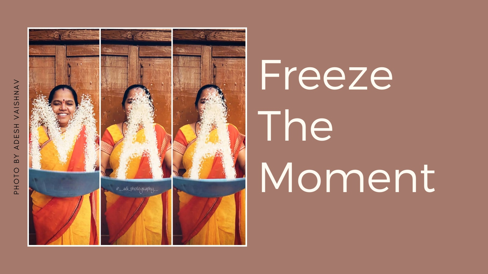 Freeze The Moment - Photography Challenge
