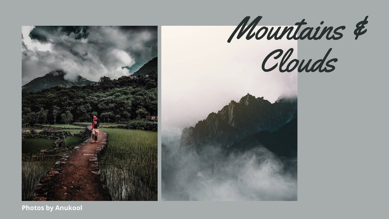"""""""Mountains & Clouds"""" - Travel Photography Challenge"""