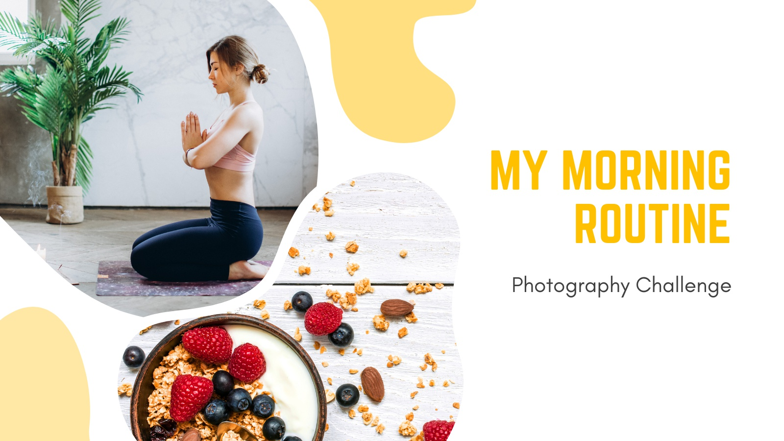 My Morning Routine - Photography Challenge