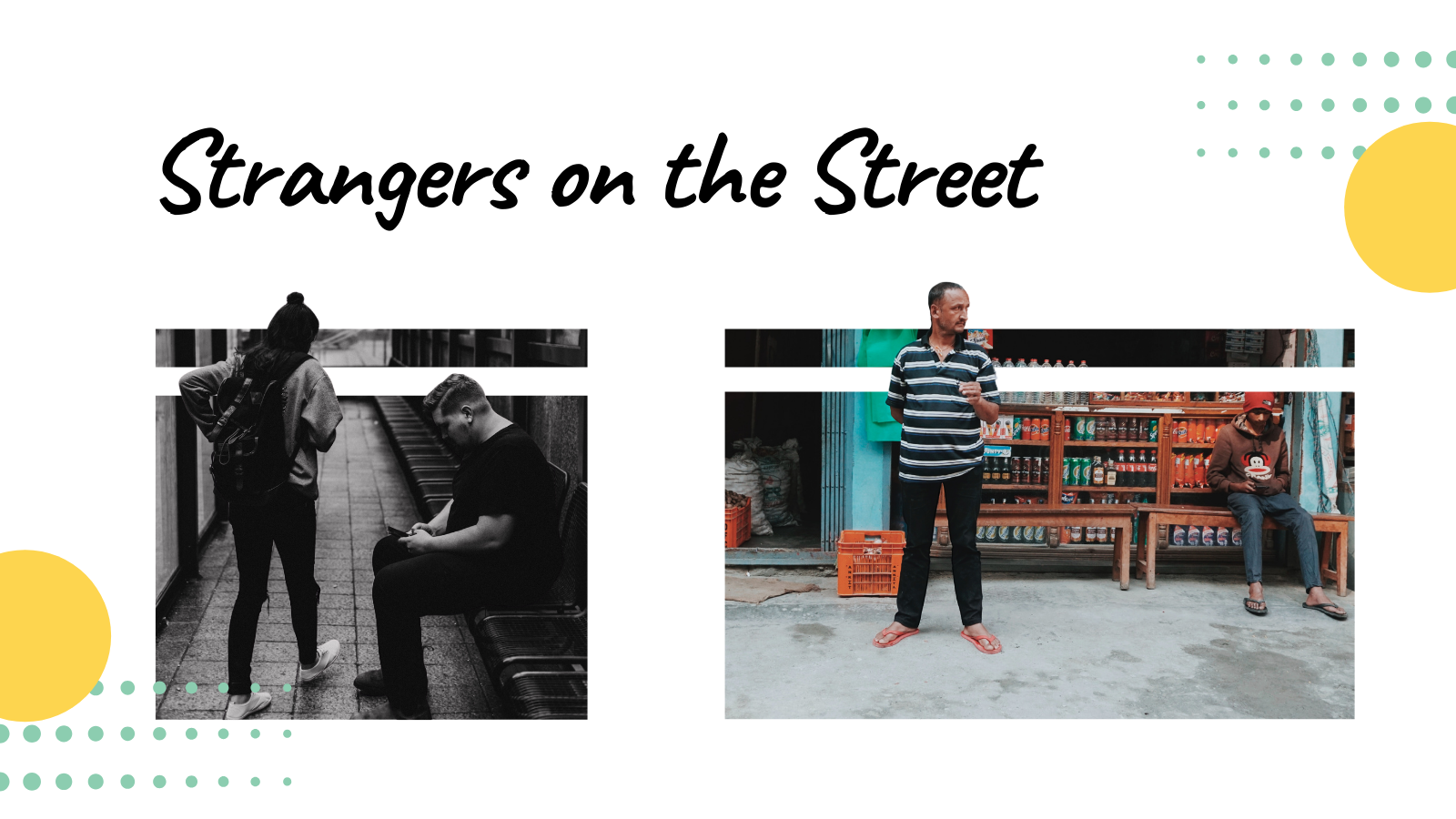 Strangers On The Street - Photography Challenge