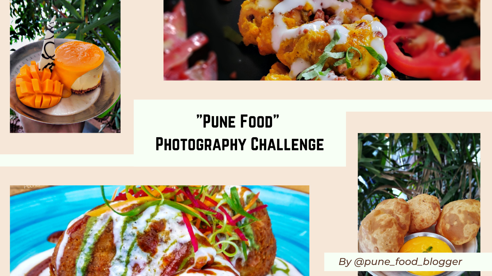 """Pune Food"" - Photography Challenge"