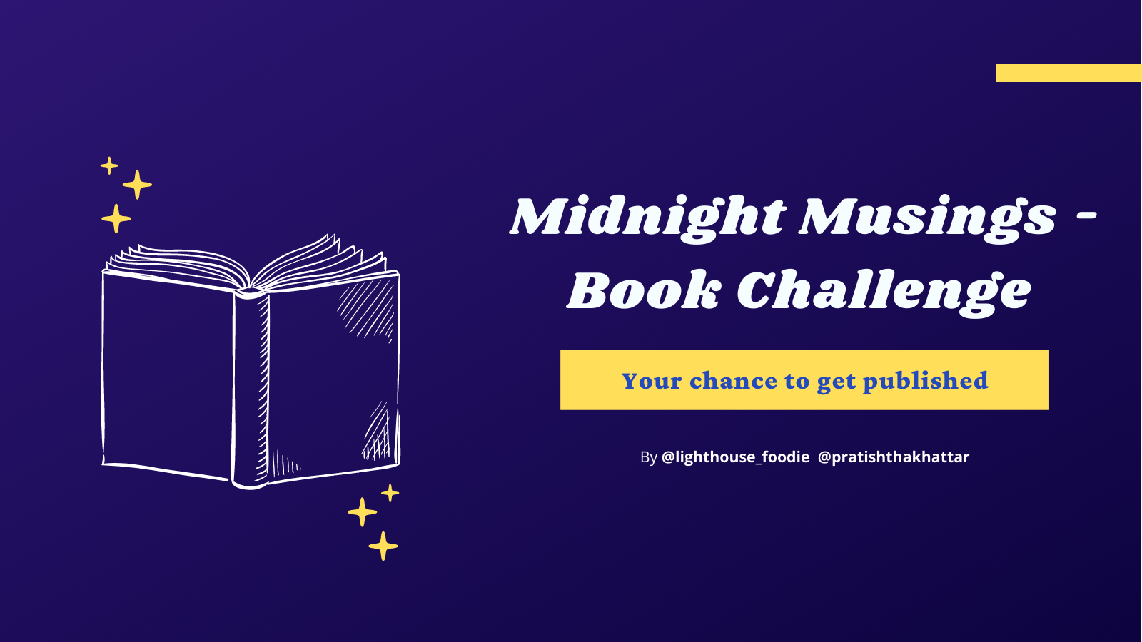Midnight Musings (Get Published in a Book) - Writing Challenge