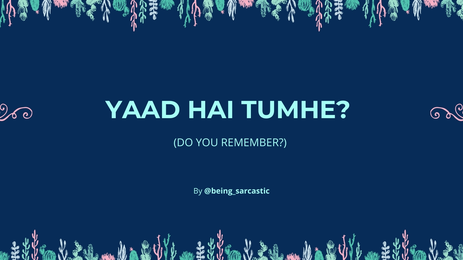 Do You Remember? - Writing Prompt
