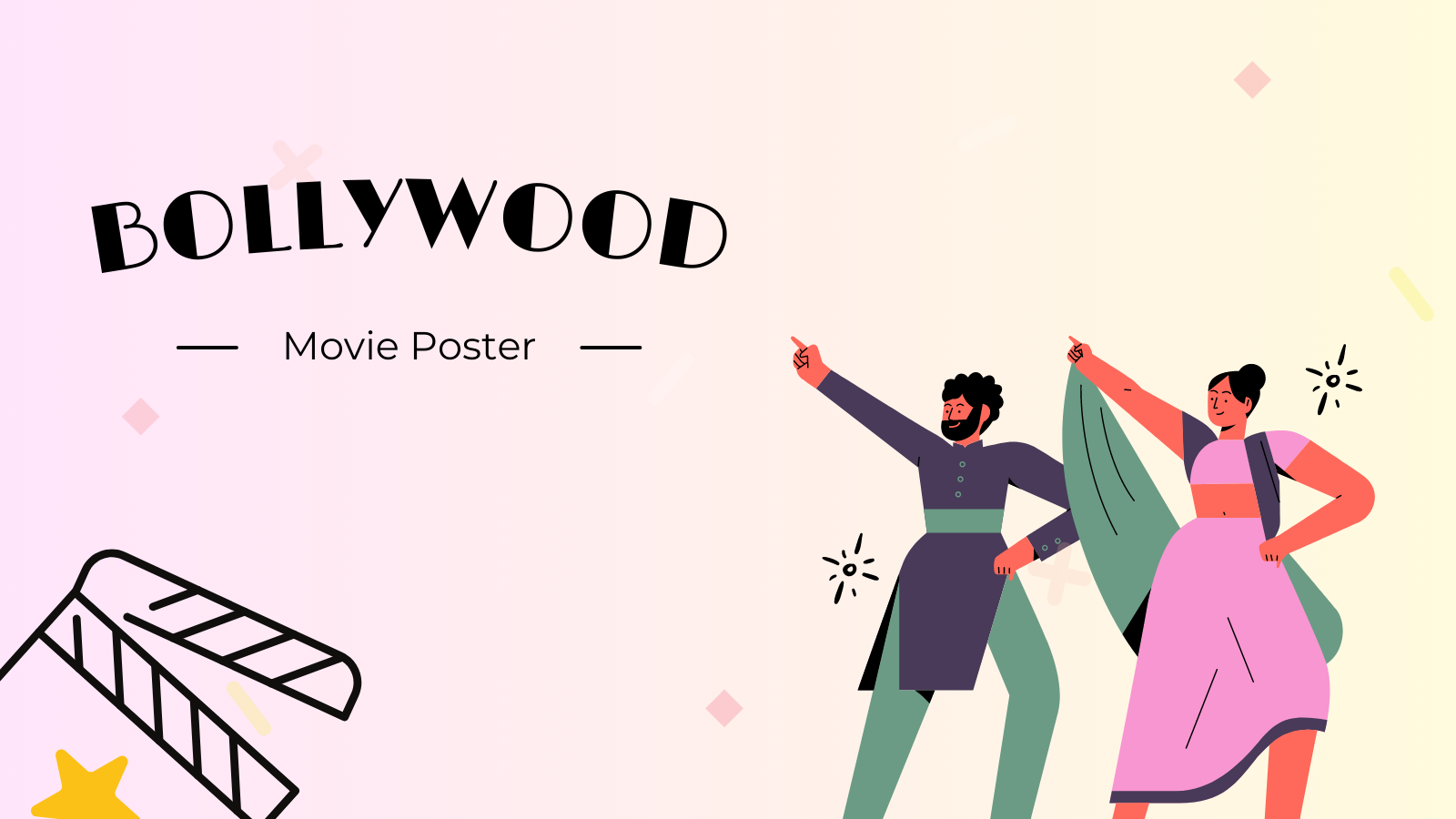 Bollywood Movie Poster - Art Challenge