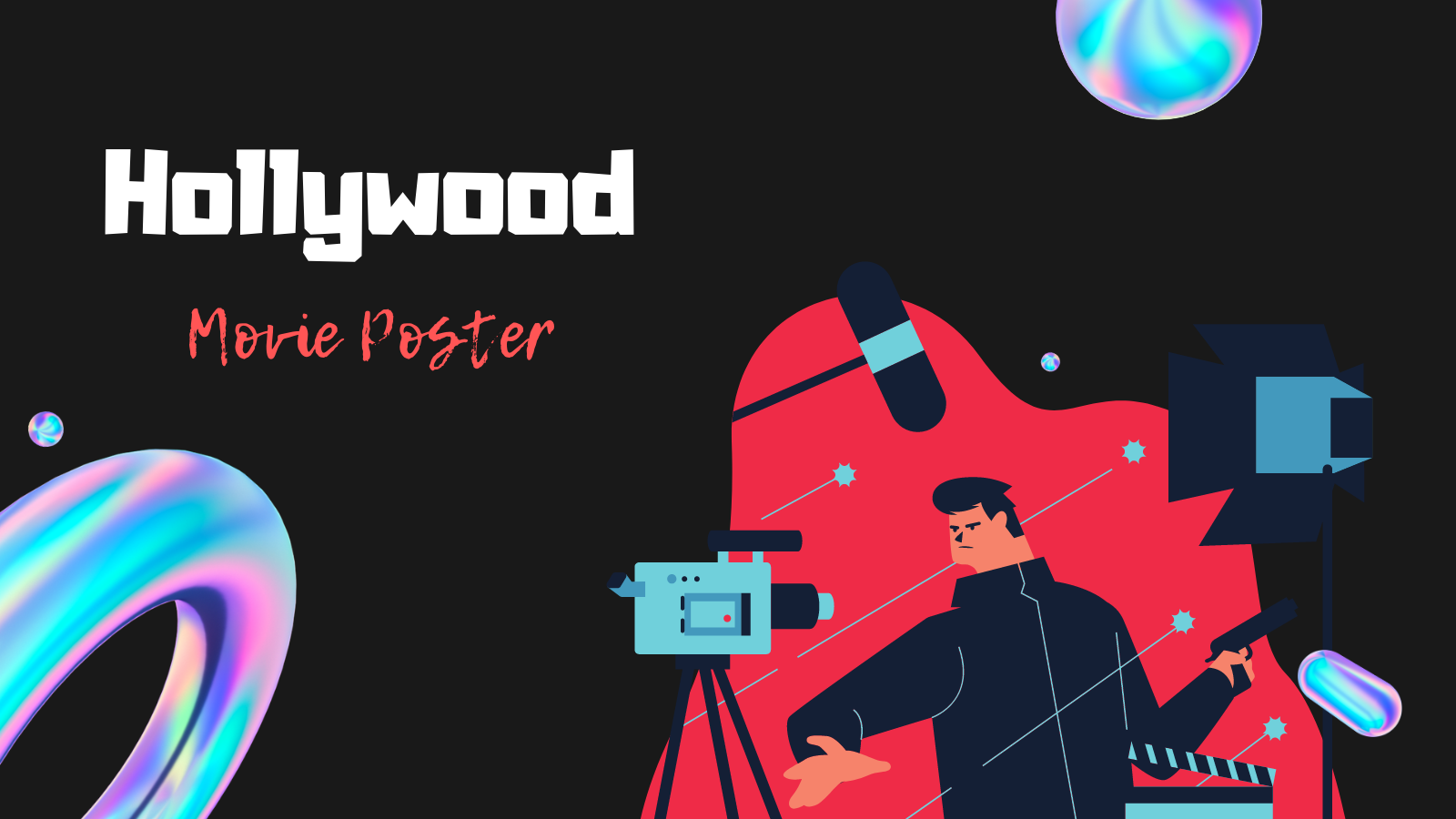 Hollywood Movie Poster - Art Challenge