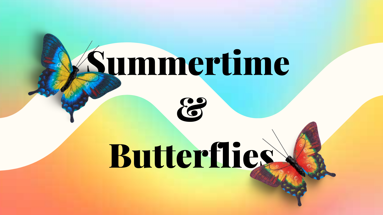 Summertime and Butterflies - Photography Challenge